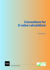 WITHDRAWN AND SUPERSED - Conventions for U-value calculations (superseded  edition)