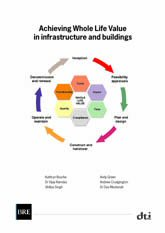 Achieving whole life value in infrastructure and buildings