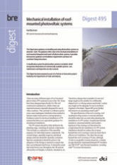 Mechanical installation of roof-mounted photovoltaic systems. <B>(Downloadable version)</B>