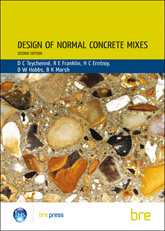 Design of normal concrete mixes: second edition<BR>(BR 331)<B>DOWNLOAD</B>