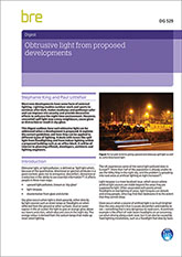 Obtrusive light from proposed developments<BR>(DG529) <B>DOWNLOAD</B>
