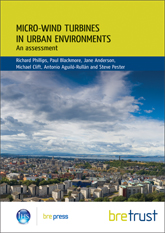 Micro-wind turbines in urban environments - an assessment