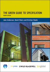 The Green Guide to Specification, 4th Edition<br>(BR 501) <b>DOWNLOAD</b>