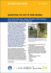 Quantifying the cost of poor housing <B>(Downloadable version)</B>