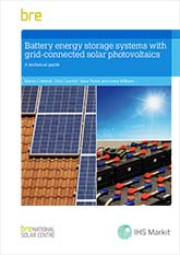 Battery energy storage systems with grid-connected solar photovoltaics: A technical guide<br>(BR 514) <b>DOWNLOAD</b>