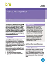 Why do buildings crack?<br>(DG 361) <b>DOWNLOAD</b>