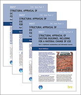 Structural appraisal of existing buildings, including for a material change of use: 4-part set <BR>(DG 366) <B>DOWNLOAD</B>