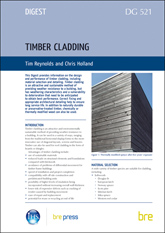 Timber cladding (DG 521)