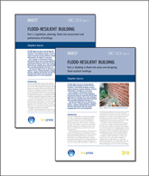 Flood-resilient building: Two part set <BR> (DG 523) <b>DOWNLOAD</b>
