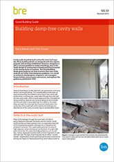 Building damp-free cavity walls<BR> (GG 33 revised) <B>DOWNLOAD</B>