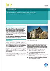 Radon solutions in older homes (GR 38) Downloadable version