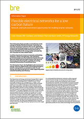 Flexible electrical networks for a low carbon future: Network and built environment opportunities for enabling smarter networks <br>(IP 1/17) <b>DOWNLOAD</B>