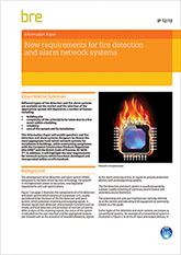 New requirements for fire detection and alarm network systems (IP 12/13)