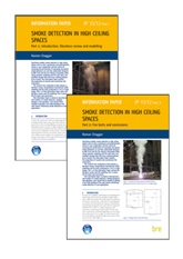 Smoke detection in high ceiling spaces (2-part set) <B>PDF Download</B>