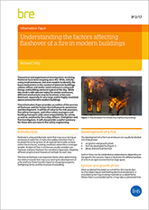 Understanding the factors affecting flashover of a fire in modern buildings<br>(IP 2/17) <b>DOWNLOAD</B>