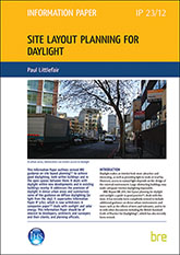 Site layout planning for daylight<BR>(IP 23/12) <B>DOWNLOAD</B>