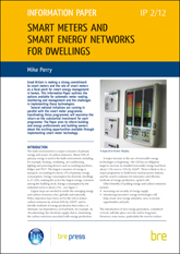 Smart meters and smart energy networks for dwellings <b> Downloadable Version </b>