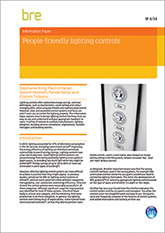 People-friendly lighting controls (IP 4/14) Downloadable version