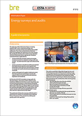 Energy surveys and audits: A guide to best practice DOWNLOADABLE VERSION