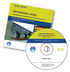 Non-traditional houses: Identifying non-traditional houses in the UK 1918-75 - DIGITAL EDITION (AP 294)
